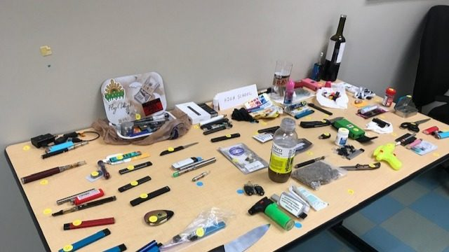 Tuesday at 5:30: Confiscated on Campus: KIRO 7 Investigates what kids are bringing to school