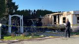 VIDEO: One person killed in Mount Vernon mobile home fire
