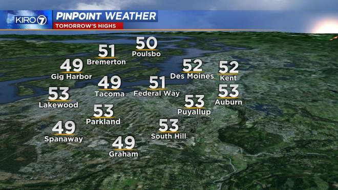 Weather Detail | KIRO-TV